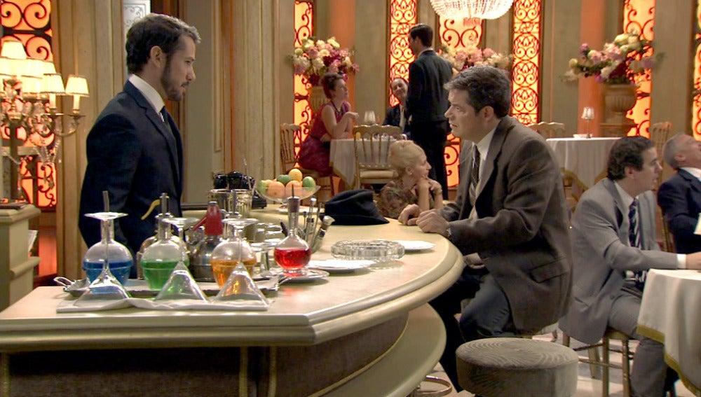 Ramón en el Café Reyes