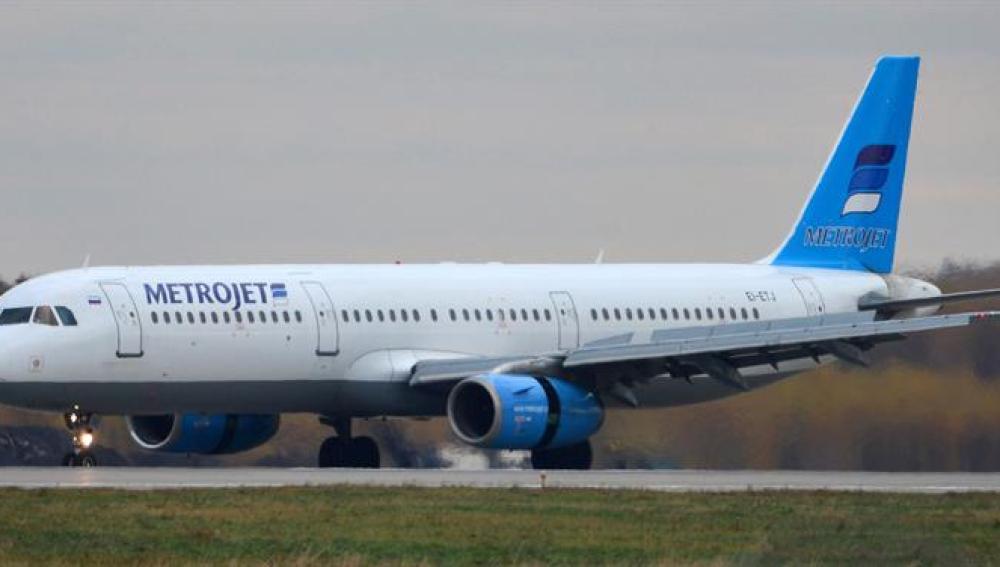 Avión Metrojet Airbus A321