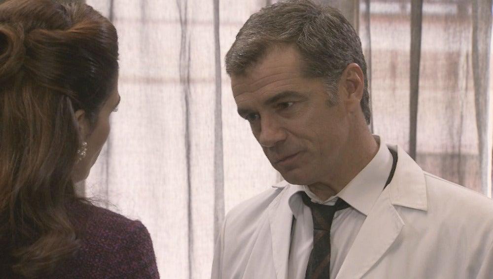 Eugenio no acepta la nulidad de su matrimonio con Adela