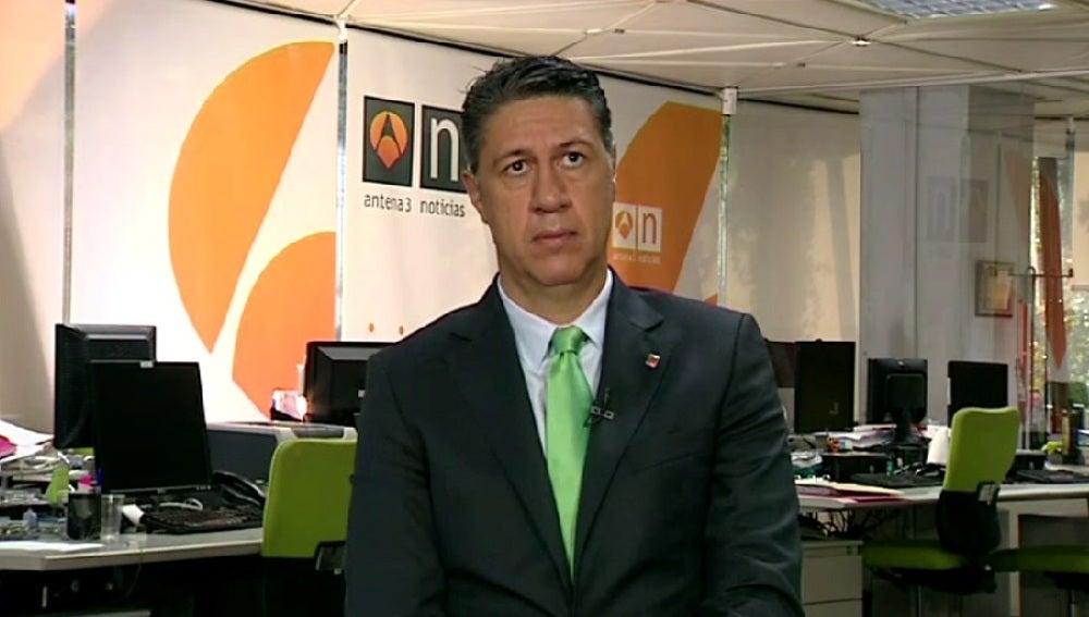 Xavier García Albiol, durante una entrevista en Espejo Público