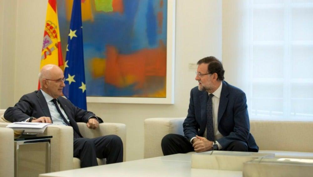 Rajoy y Duran en La Moncloa