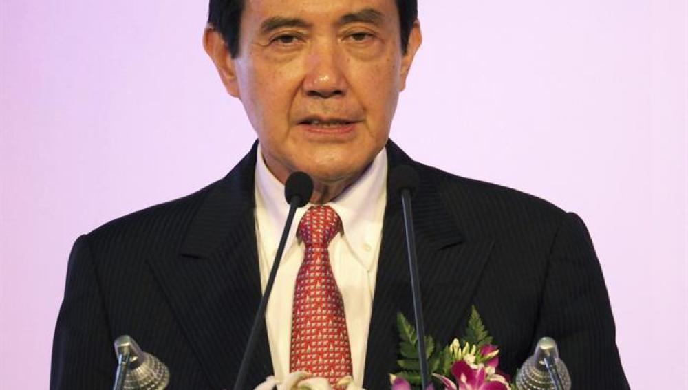 El presidente taiwanés Ma Ying-jeou