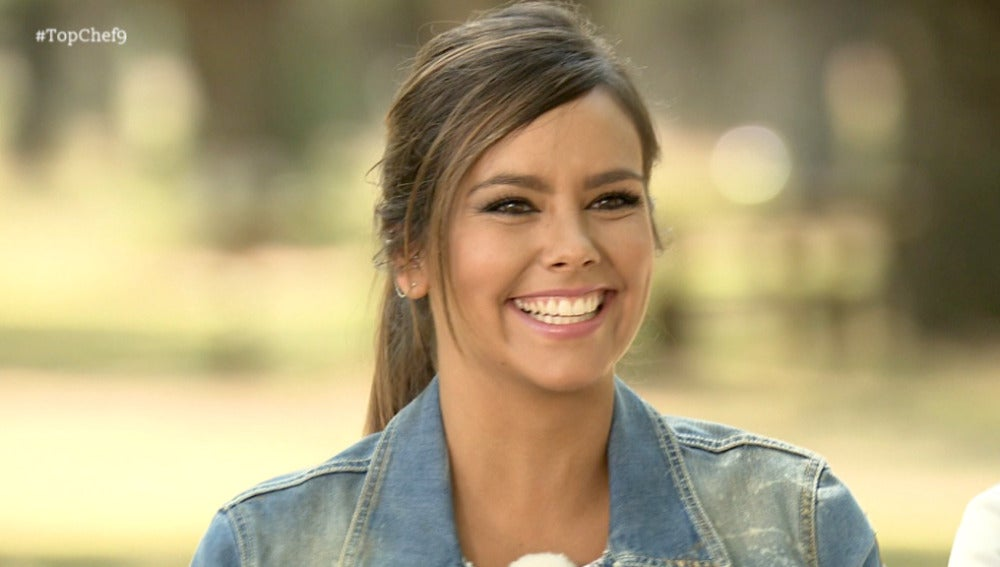 Cristina Pedroche invitada en el noveno programa de 'Top Chef'