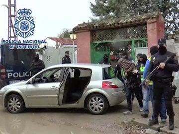 Detención de los yihadistas en Cañada Real