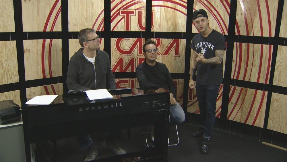 Arnau Vilà, Àngel Llàcer y Adrián Rodríguez