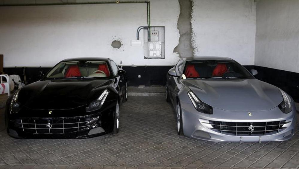 Los dos Ferrari obsequiados por Emiratos Árabes