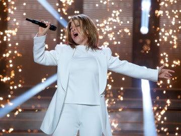 Ruth Lorenzo imita a Céline Dion