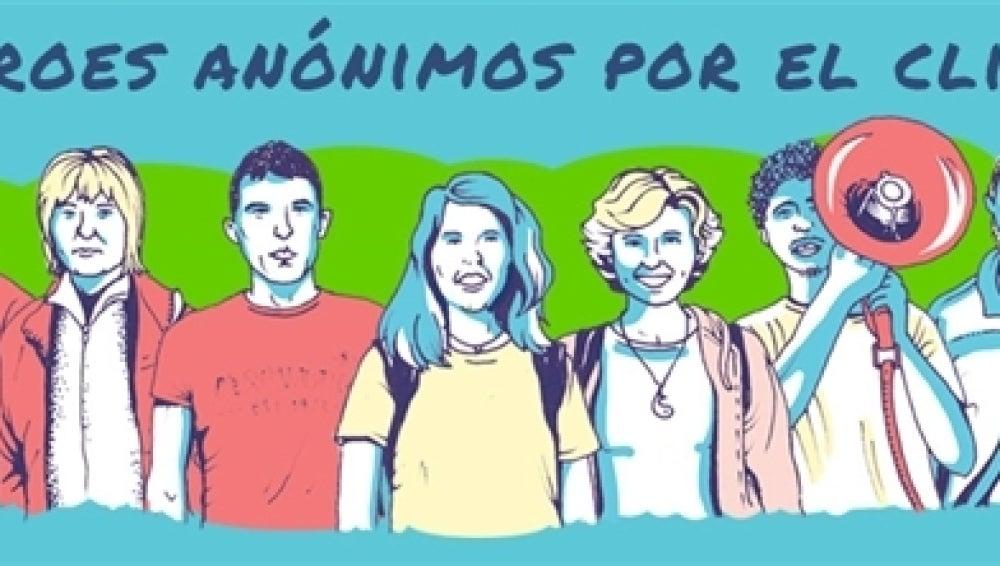 Greenpeace ya tiene a sus 'héroes anónimos'