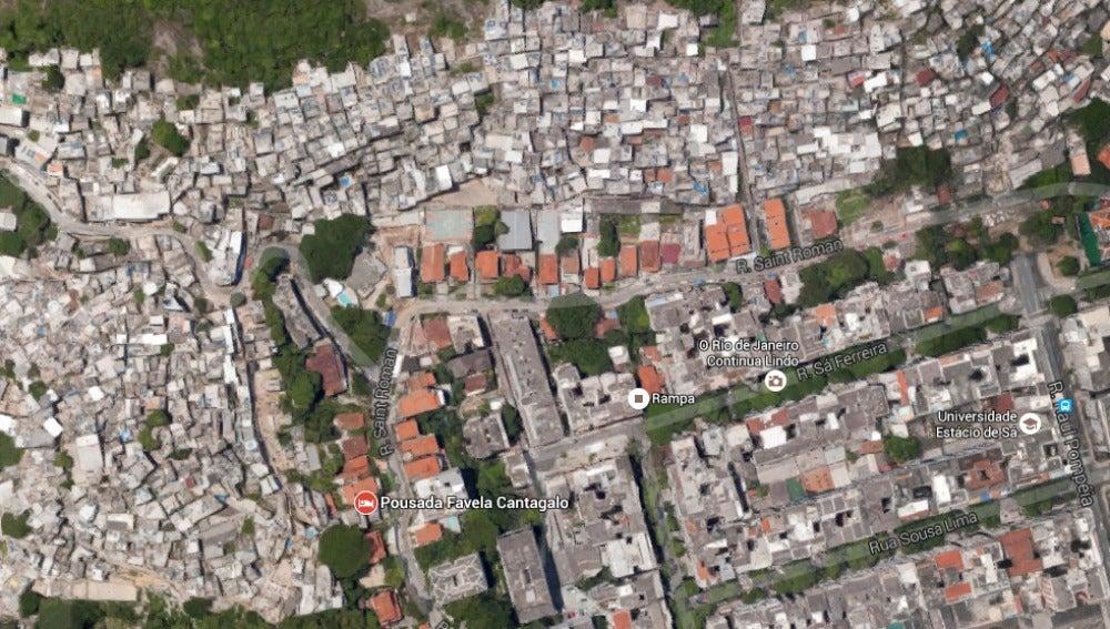 Favelas frente a Copacabana