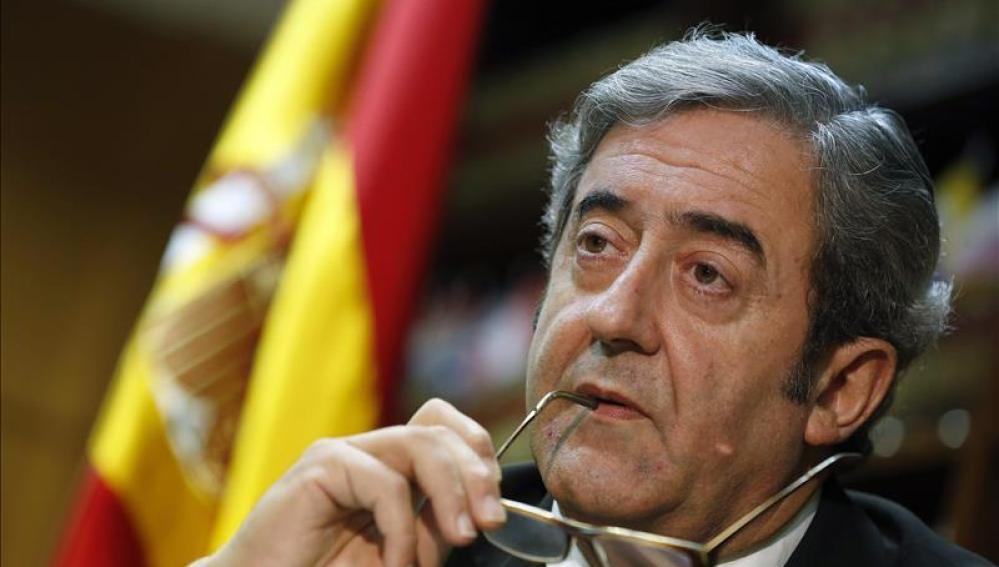 El asesor en materia de terrorismo de la Fiscalía General del Estado, Javier Zaragoza