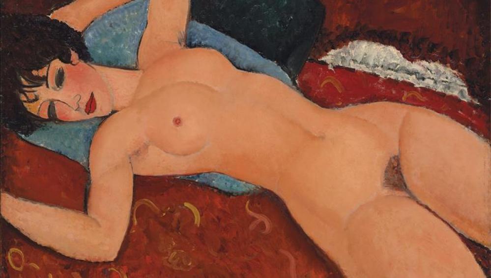 'Desnudo acostado'