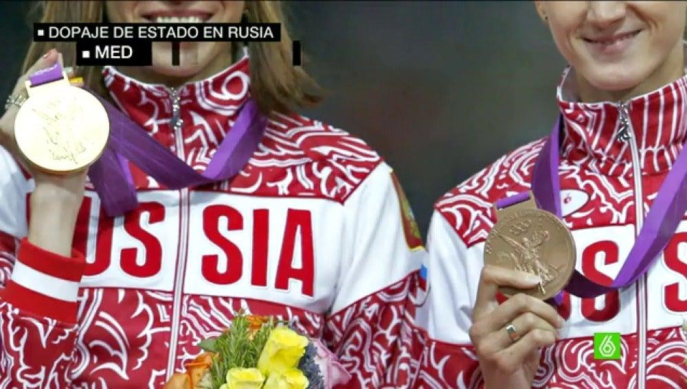 Frame 42.895792 de: La AMA acusa a Rusia de dopaje de Estado y pide suspender su Federación