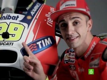 Iannone, con su Ducati