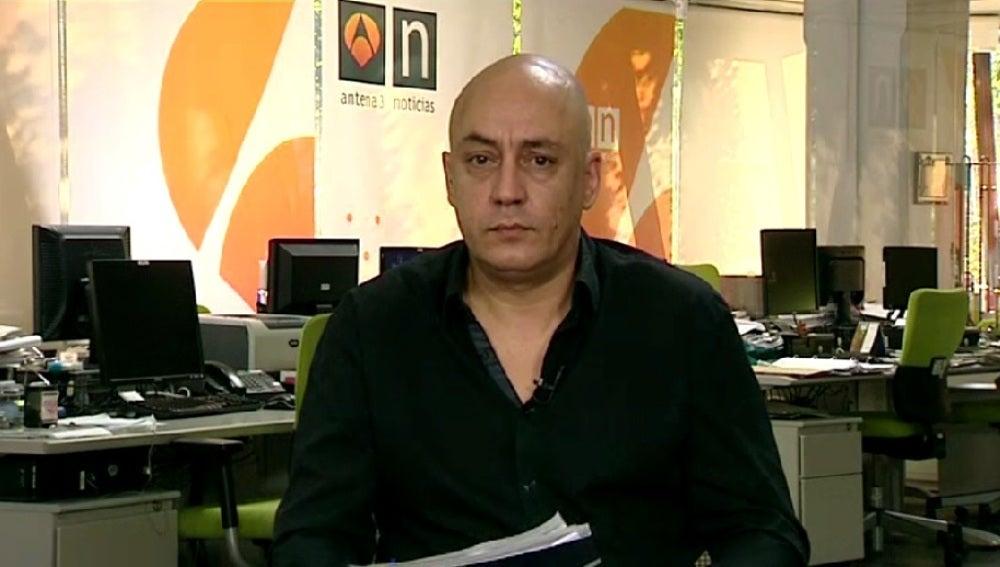 David Miquel, portavoz del Sindicato de Policías de Cataluña