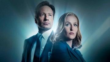 Los protagonistas de 'X Files'.