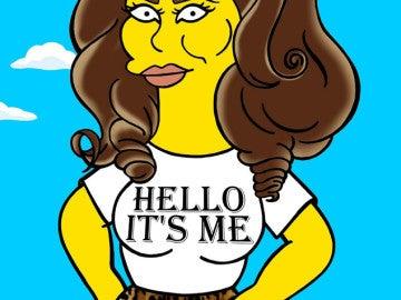 Adele, una ciudadana más de Springfield