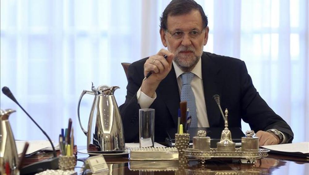 Mariano Rajoy en la cumbre de La Valeta