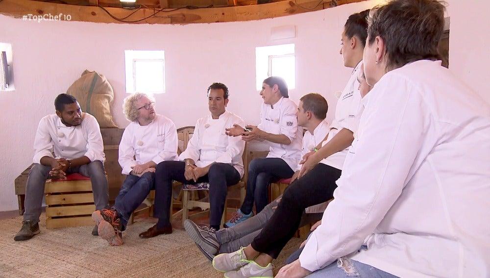 Los ex concursantes vuelven a Top Chef