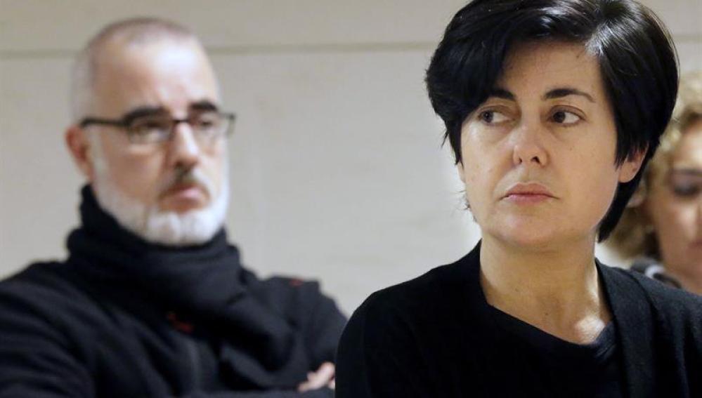 Rosario Porto y Alfonso Basterra