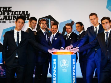 Los participantes de la Masters Cup