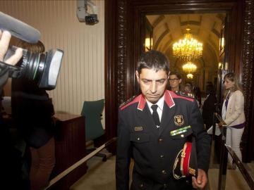 El comisario jefe de los Mossos d' Esquadra, Josep Lluis Trapero