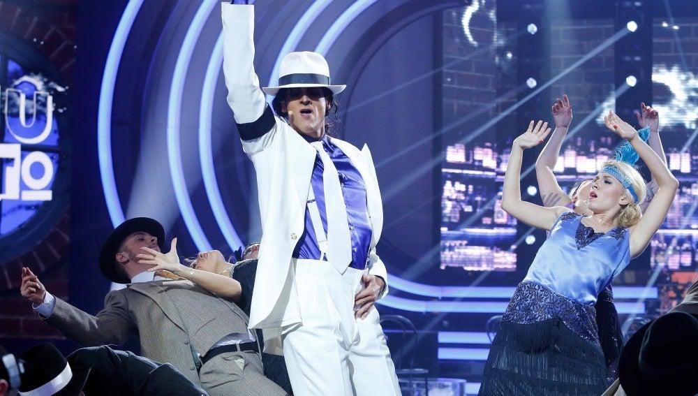 Edu Soto supera el reto de bailar 'Smooth criminal' como Michael Jackson