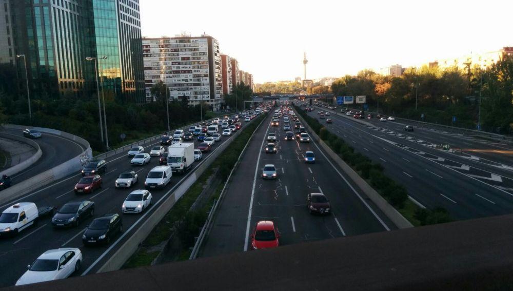 Tráfico habitual en la M-30