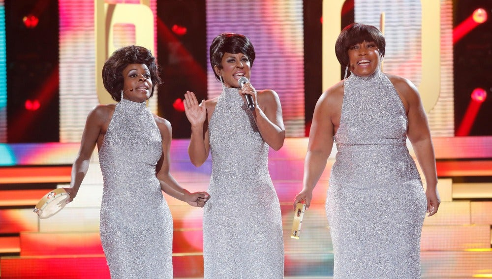 Vicky Larraz canta 'You can't hurry love' de The Supremes