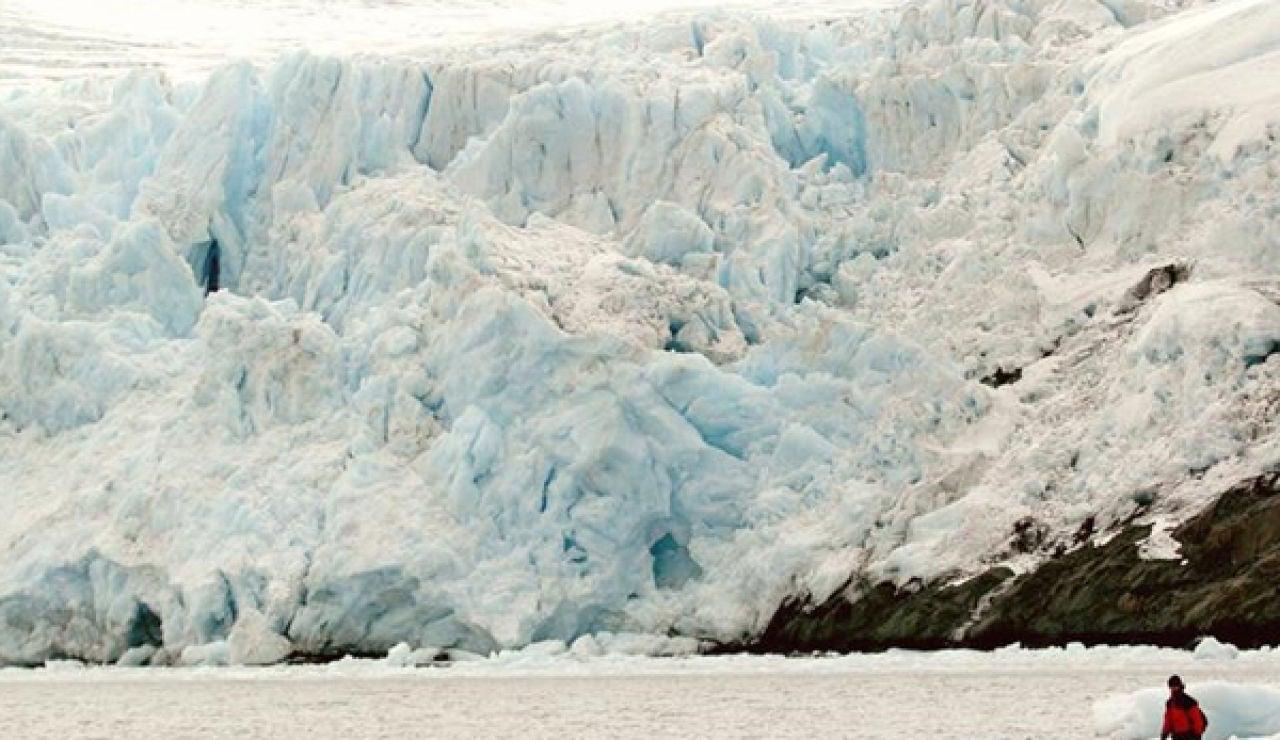 Deshielo de un glaciar en Groenlandia
