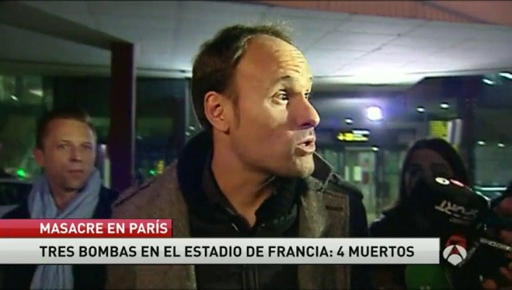 """Frame 21.8316 de: Mateu Lahoz vuelve a España: """"Lo importante son las víctimas y los familiares"""""""