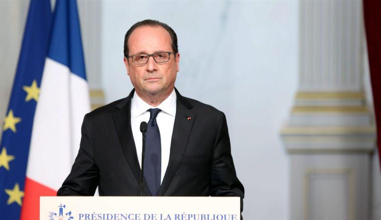 El presidente francés Francois Hollande