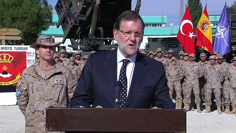 Mariano Rajoy, en Turquía