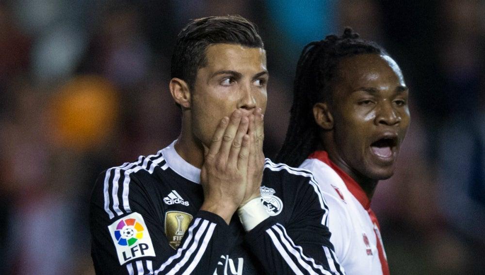 Cristiano Ronaldo, junto a Manucho