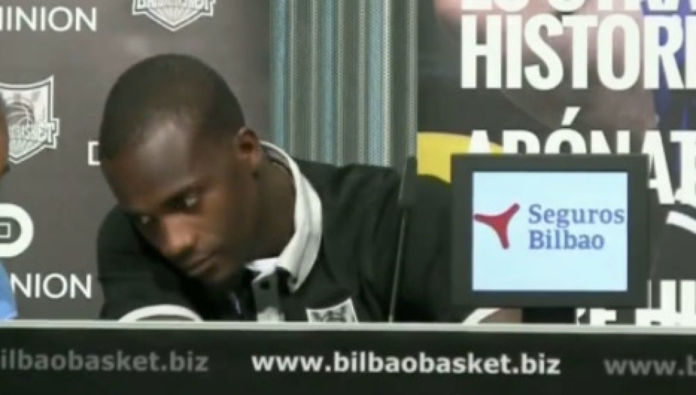 Shawn James, jugador del Bilbao Basket