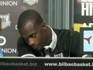 Shawn James, jugador del Bilbao Basket