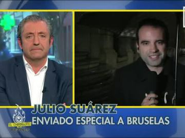 """Julio Suárez: """"Se sospecha que Salah está en Bélgica y quiere atentar"""""""