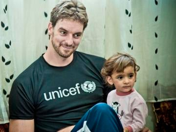 Pau Gasol, embajador global de UNICEF