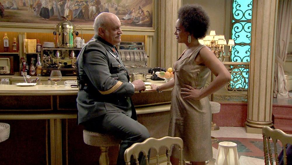 Gervasio y Dalila en el Café Reyes