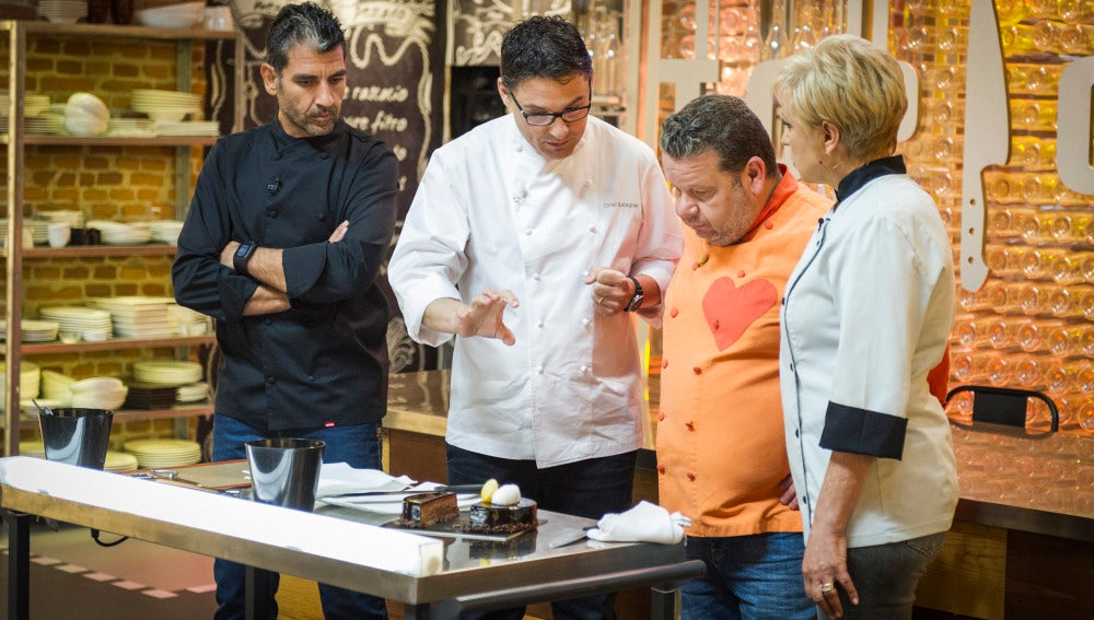 Oriol Balanguer visita Top Chef