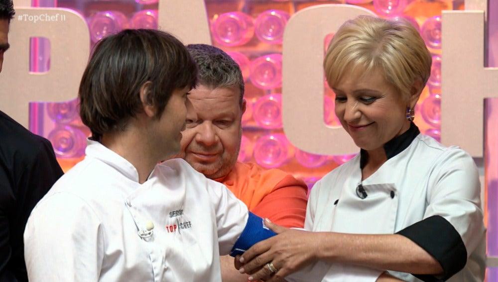 Sergio consigue su primera inmunidad con un postre de máquina