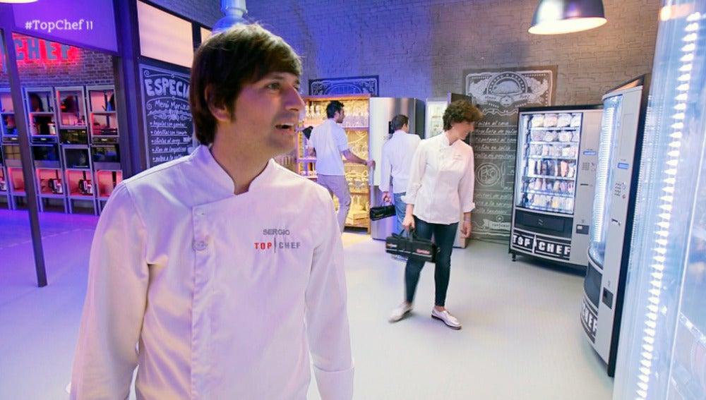 """Los concursantes ante los productos de las máquinas expendedoras: """"Esto cada vez se complica más"""""""