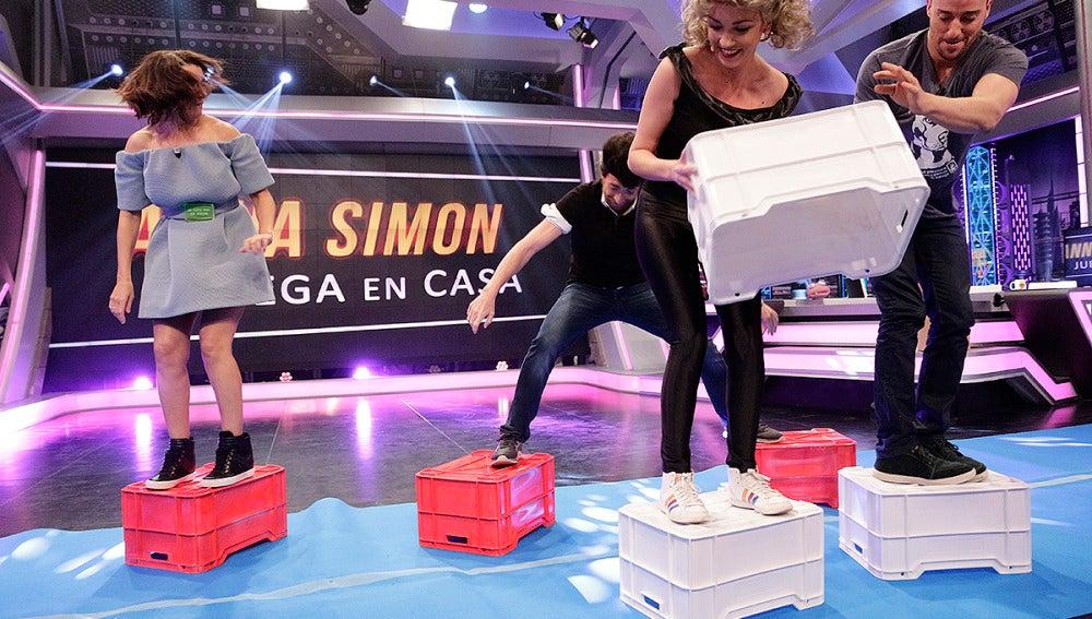 Silvia Abril y Pablo Puyol en 'El Hormiguero 3.0'