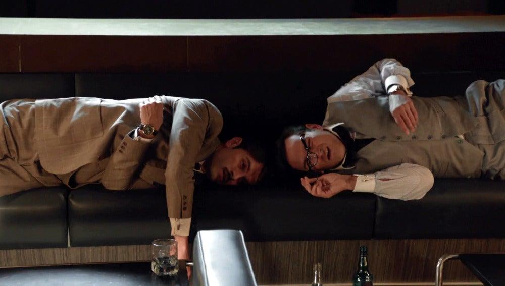 Raúl y Mateo, ríos de alcohol