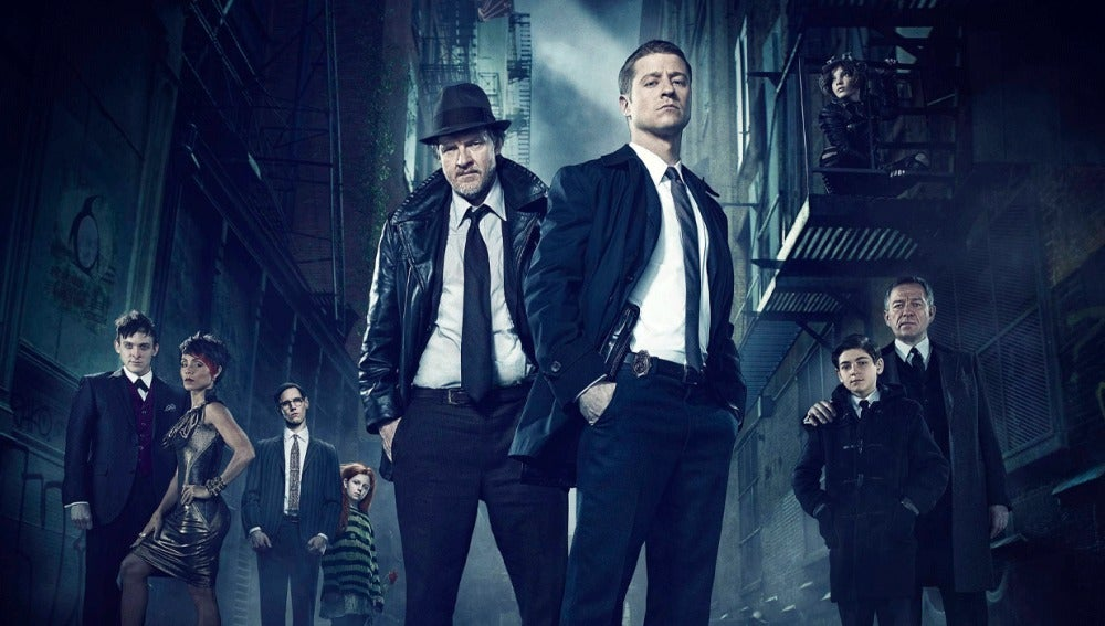La serie de televisión 'Gotham'