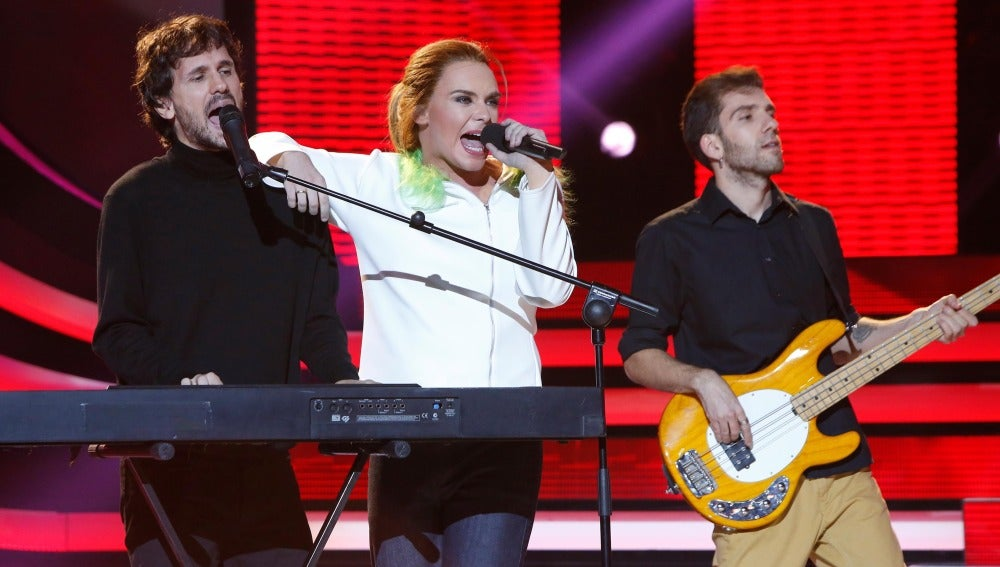 Mario Jefferson imita a Amaia Montero y canta 'Cuídate', de La Oreja de Van Gogh