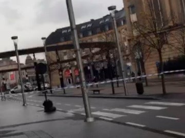 Alerta en la Estación Central de Bruselas