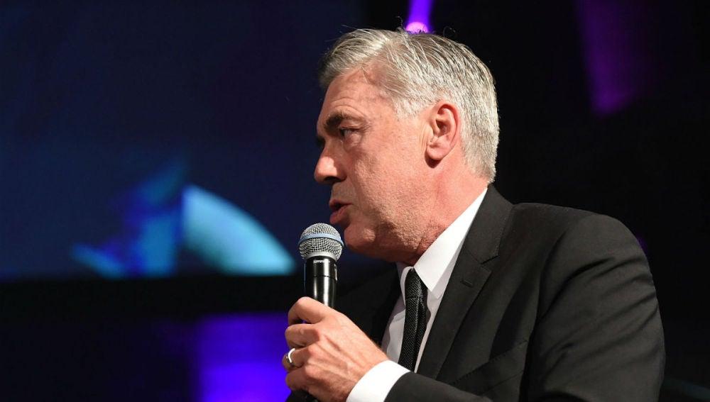 Ancelotti, en un acto en Londres