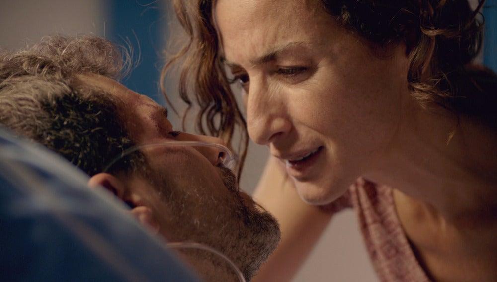 Héctor y Marta en el hospital