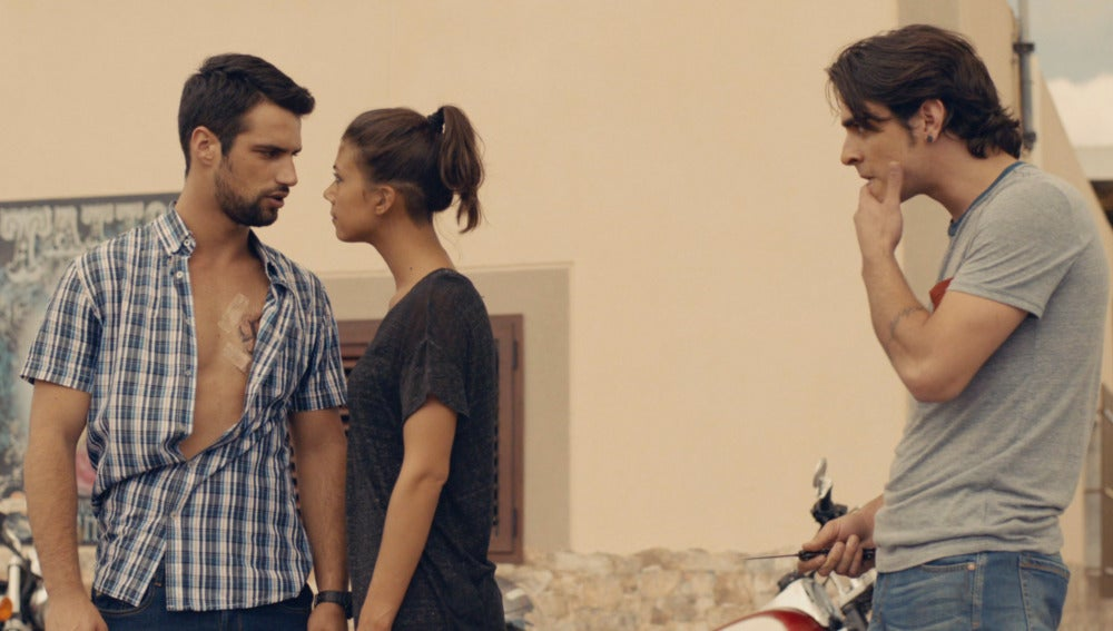 Lucas y Pilar pelean
