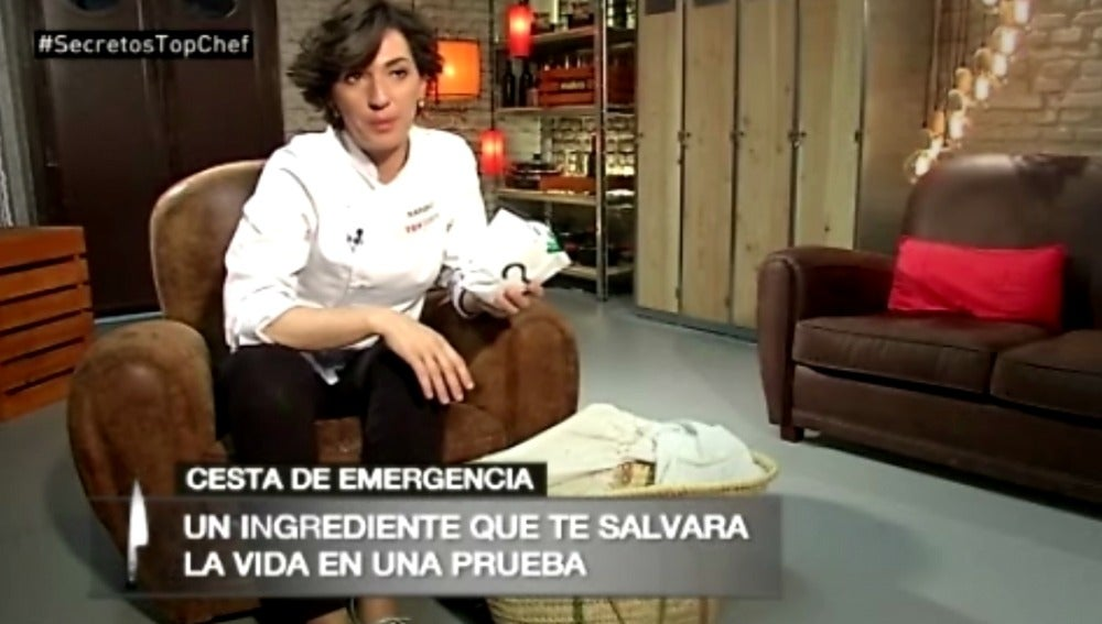 Cesta de emergencia para sobrevivir en la cocina